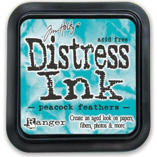 Encre Distress - PEACOCK FEATHERS Ranger Ink by Tim Holtz