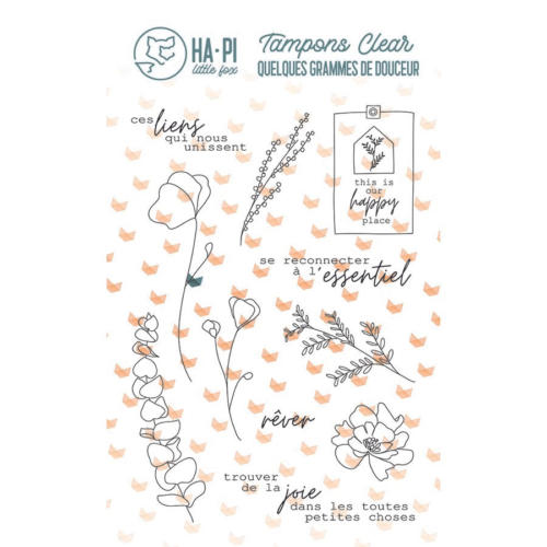 Tampon Clear - QUELQUES GRAMMES DE DOUCEUR L'Essentiel - Ha Pi Little Fox