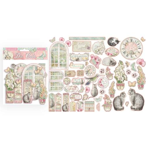 STAMPERIA - Collection ORCHIDS AND CATS - Die Cuts Découpes