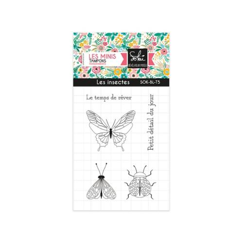 Tampon Clear - SO BLOOM  Les Insectes - Sokai