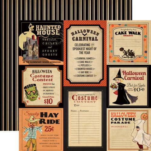 Carta Bella Halloween - Trick Or Treat - Halloween Carnival