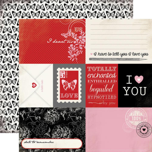 Carta Bella - Words Of Love - Journaling Cards