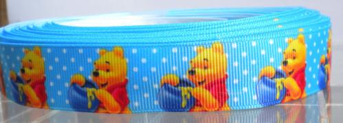Ruban Imprimé fantaisie - WINNIE L'OURSON