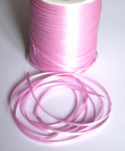 Ruban Satin -  3mm ROSE